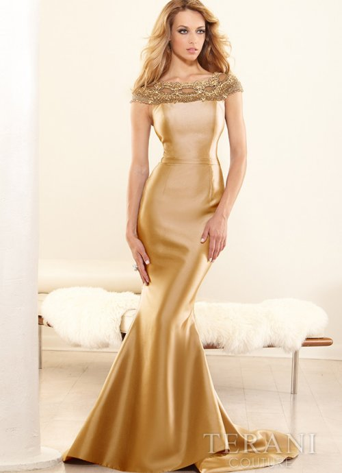 Gold Dresses Mother Of The Bride - Dresses For Mother Of The Bride