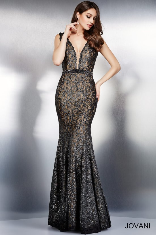 Jovani Black Mother Of The Bride Dress - Wedding Dress Ideas