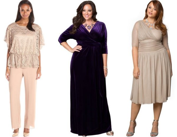 plus size mother of the bride groom dresses