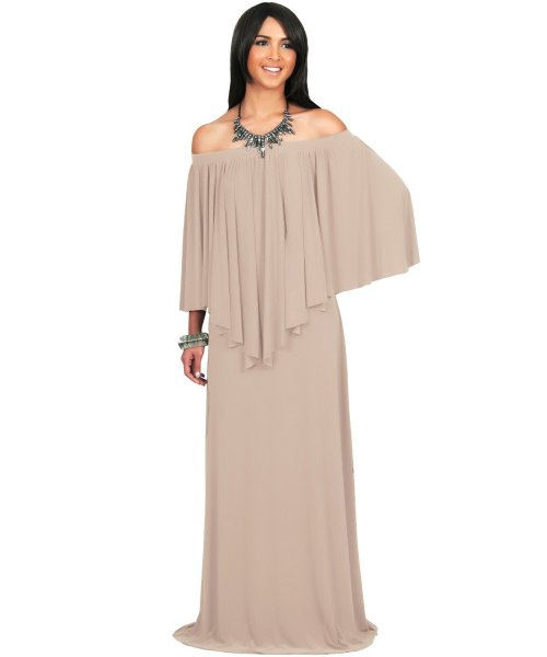 strapless beige plus size mother of bride gown
