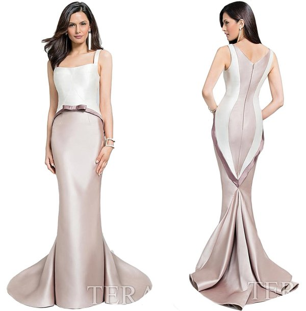 Terani Couture 17113161 sleek mother of the bride dress