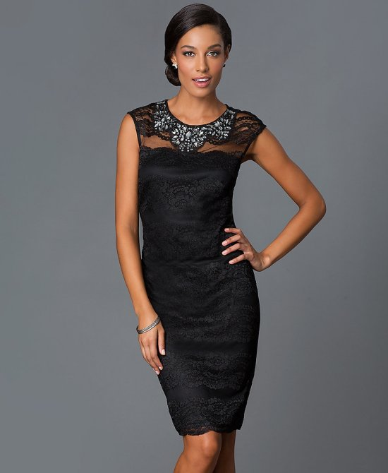 b50e77763 Classy & Sexy: 4 Short Black Dresses for Mother of The Bride